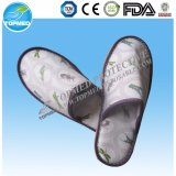 Wholesale Waffle Material Closed Toe Hotel Slipper for Beauty Salon
