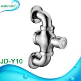 Wall Mounted Time Delay Us Style Hand Push Button Foot Press Urinal Flush Valve for The Public