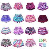 Girl's Fashion Color Printed Kid Girls Beach Wear Shorts Children's Short Pants Kids Shorts Baby Short