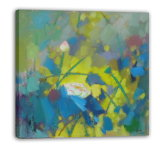 Impressionism Landscape Waterlily - 001 on Oil Painting