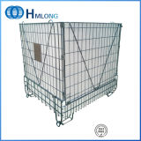 Collapsible Metal Wire Storage Containers for Pet Preform Storage