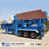 Hot Selling and Low Cost Trailer Mobile Crusher