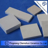Ceramic Honeycomb as Catalyst Support Bed