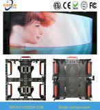 Curved Design Cabinet Full Color LED Video Display