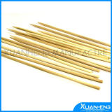Disposable Flat Natural Bamboo Skewer for BBQ