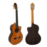 Handmade Cutway Shape Nylon String Classic Electrical Guitar