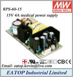 Mean Well Rps-60-15 15V 4A Medical Power Supply