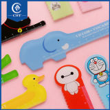 Cartoon Animal Plastic Bendable Ruler Measuring Straight Ruler