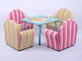 Canvas Wood Frame Children Sofa/Kids Furniture (SXBB-13-01)