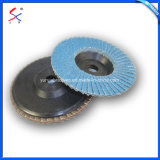"Quick Change 2"" 3""Zirconia Flap Disc with Plastic Backing for Paint Removal and Deburing"