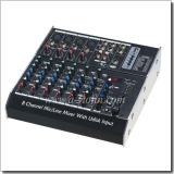 Professional Build in MP3 Player Mixing Console (AMS-C802FX)