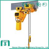 High Working Efficiency 1 Ton Electric Chain Hoist