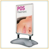 Outdoor Water Base Poster Board Display Stand