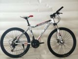 Aluminum Alloy 26 Inch Mountain Bike Shimano Derailleur Front and Rear Disk Brake 85% SKD