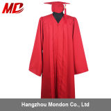 Adult Red Graduation Cap Gown Tassel for High School