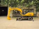 Widely Used New Wheel Excavators with 0.35m3 Bucket
