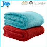 2018 New Pattern Wholesale 100%Polyester Microfiber Coral Fleece Blanket