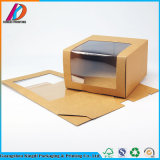 Kraft Paper Box with Clear Window