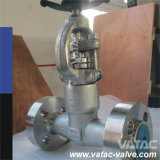 Flange RF or Bw Cast & Forged Stainless Steel Industrial Wedge Gate Valve with Rising Stem