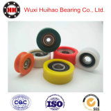 Rubber Plastic Coated Deep Groove Ball Bearing, Industrial Wheel Factory, Castor Bearing with Competitive Price
