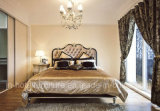 New Classical Wooden Bed / Hotel Bedroom Furniture