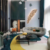 Nordic Modern Family Living Room Three Person Sofa