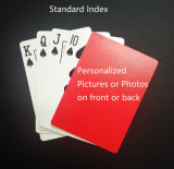 Customized Black Core Paper/Plastic Playing Cards with Personal Designs