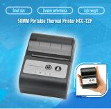 Mini 58mm Bluetooth Handheld Mobile Thermal Receipt Portable Printer (HCC-T2P)