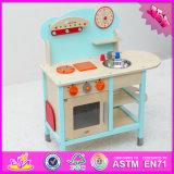 2016 Top Fashion Wooden Children Kitchen Play Toy Set W10c209