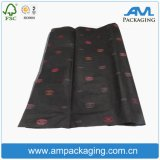 Printed Bla⪞ K Gift PA⪞ Kaging Wholesale Custom Tissue Paper with Logo