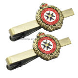 Custom Crown Design Metal Tie Clip for Fire and Emergency Service