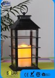 Black Plastic Candle LED Lantern