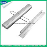 Single Foot Double Sides Type Aluminum Roll up Stand