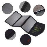 21W Sunpower Foldable USB DC Mobile Phone Power Bank Portable Solar Charger Bag OEM Factory