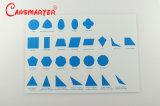 Geometric Cabinet Control Chart (English) Montessori Materials Wooden Educational Toys