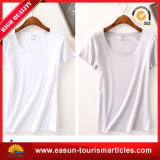 Wholesale Slim Fit 120 GSM Whitet Shirt for Women