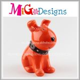 Wholesale Low Price Ceramic Pretty Dog Money Bank