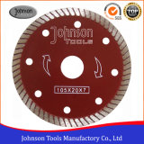 105mm Hot Press Sintered Turbo Saw Blade for Ceramic and Tiles
