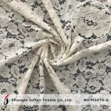 Heavy Thick Jacquard Embroidery Fabric Flower Cotton Lace Wholesale (M3479-G)