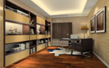 Italian Modern Wooden Desk Study Room Furniture (zj-008)