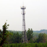 Power Transmission Microwave Communication Angle Steel Tower