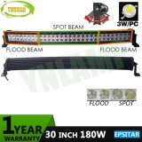 180W 30inch Combo Beam LED Curved Bar with Epistar LEDs