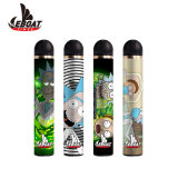 Private Label 2000puffs 6% 1300mAh Disposable Electronic Cigarette Disposable Vape Pen