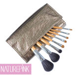 Silver Gold Professional Makeup Brush, Cosmetic Make up Brush Set 8PCS (NP0811)