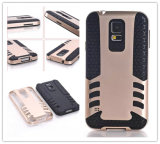 for Mobile Phone Samsung S5 Hybrid Combo Case Cover