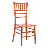 Brown Solid Wood Chiavari Chair for Wedding and Event