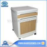 Bc009 Factory Manufacture Wooden Hospital Side Locker Bedside Cabinet