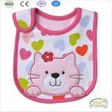 Waterproof Eco Friendly Polyester Baby Bib with Cute Printing