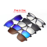 Wholesale Fashion Driving Mirror Lens UV400 Polarized Clip on Sunglasses