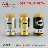 New Arrival Top Dripping 100% Original Atomizer Obs Crius Rdta Tank with 4ml Capacity